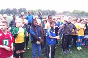 Unsere Heuen-Jungs beim Fußballtunier